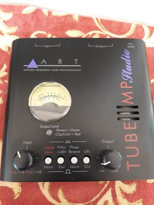 ART Studio Tube Mp Microphone Pre Amp Homestudio DJ for Sale in Chandler, AZ