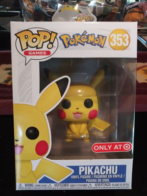 Funko Pop Pokemon Pikachu Target Exclusive #353 for Sale in Anaheim, CA