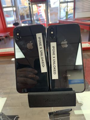 iPhone X unlocked for Sale in Trenton, NJ