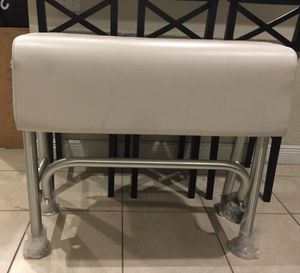 Brand new boat leaning post/boat seat/ foot rest for Sale in Oakland Park, FL