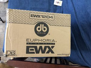 "DB DRIVE PREMIUM SUBWOOFER BRAND NEW IN BOX 12"" for Sale in St. Louis, MO"