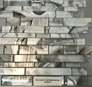 Volcanic Platinum Backsplash for Sale in Dallas, TX