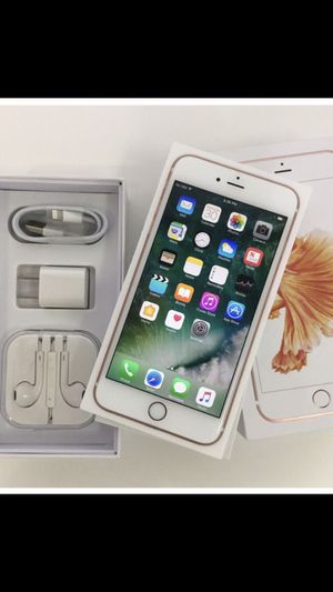 iPhone 6S Factory Unlocked Excellent Condition for Sale in Springfield, VA