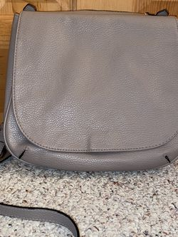 Gray Merona Faux Leather Crossbody for Sale in Telford,  PA
