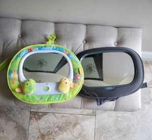 2 Car Seat Mirrors for Sale in Staten Island, NY