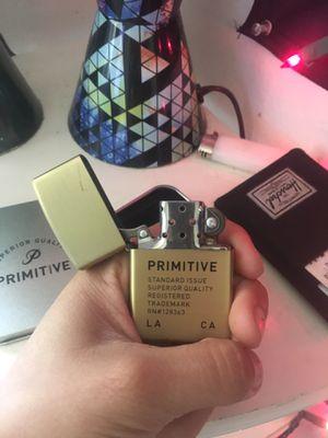 Primitive Gold Zippo Lighter for Sale in Corona, CA