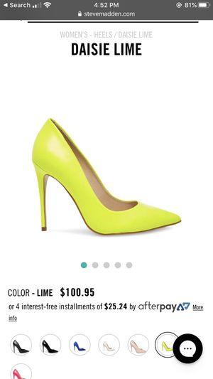 Steve Madden size heels for Sale in Arlington, TX
