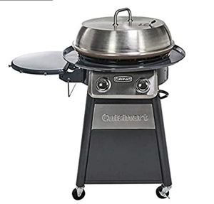 CUISINART CGG-888 Grill Stainless Steel Lid 22-Inch Round Outdoor Flat Top Gas, 360° Griddle Cooking Center for Sale in Columbus, OH