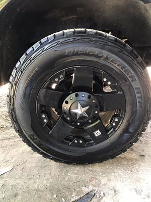 Rockstar wheels and tires for Sale in Houston, TX