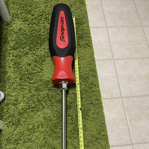 4ft Snap On Screwdriver Great Display Piece Real Metal for Sale in Bristow, VA