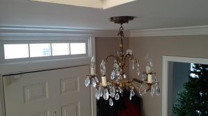 Vintage crystal chandelier for Sale in IL, US