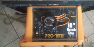 Pro tech 10 inch bench saw for Sale in Orlando, FL