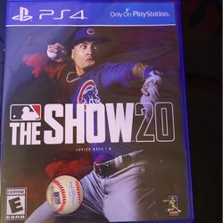 Mlb The Show 20 PS4 for Sale in Pinellas Park,  FL