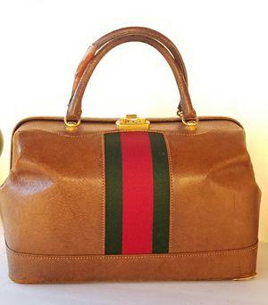 Vintage Gucci Train case boston doctor's bag for Sale in Arlington, TX