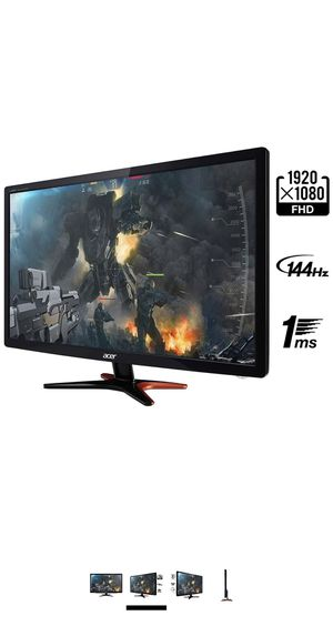 From the manufacturer Acer GN246HL Bbid 24-Inch 3D Gaming Display (144Hz Refresh Rate) for Sale in Germantown, MD