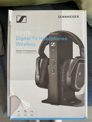 Sennheiser RS75 digital TV headphones wireless for Sale in Lake Worth, FL