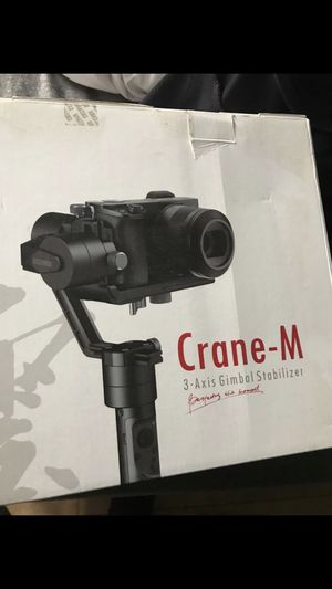 Zhiyun Crane-M 3- Axis Gimbal Stabilizer for Sale in Fontana, CA