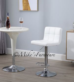 Brand new 1 white bar stools ( shipping is available) for Sale in Orlando, FL