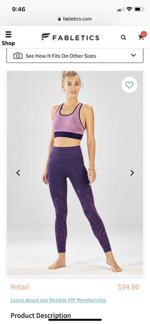 Fabletics 2 piece outfit for Sale in Centreville, VA