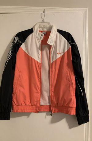 Nike pink/black/white windbreaker jacket for Sale in Aspen Hill, MD
