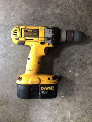 DeWault 18v Cordless Drill for Sale in Evansville, IN