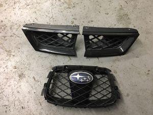 2006-2007 Subaru WRX and STI grille pieces for Sale in Sacramento, CA