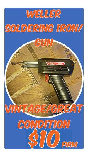 Weller Soldering Iron/Gun for Sale in Steilacoom, WA