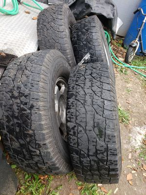 Lt 285/75R16 Wild country brand for Sale in Delaware, OH