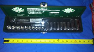 Sk vintage 3/8 socket set from the 80's brand new for Sale in Compton, CA