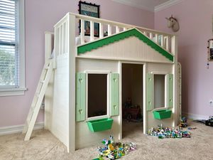 Custom Built Child's Twin Loft Cottage Bed for Sale in Merritt Island, FL
