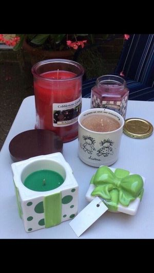 4 candles never burned for Sale in Smyrna, TN