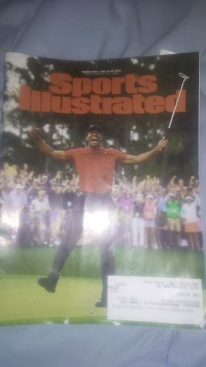 Tiger Woods very rare magazine April 2019 for Sale in Baltimore, MD