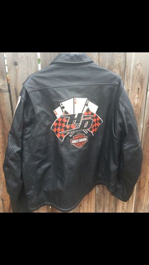 Top quality Harley-Davidson leather jacket for Sale in Visalia, CA