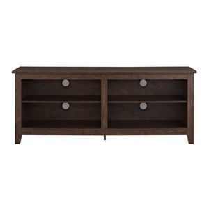 """Media Storage Stand for TV's up to 60"""", Color Brown for Sale in Rochester, NY"""