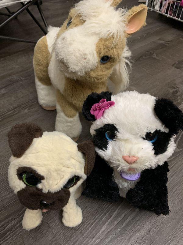 FuRReal friends plush toys