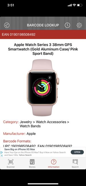 Pre Owned barely used Pink Series 3 Apple Watch for Sale in Woodbridge, VA