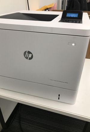 New HP Color LaserJet Enterprise M553 - 50% off retail price for Sale in Chicago, IL
