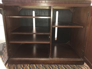 Solid Wood TV Stand / Entertainment Center for Sale in Pittsburgh, PA