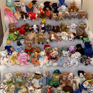 Lot Of 98 Beanie Babies Collection for Sale in San Diego, CA