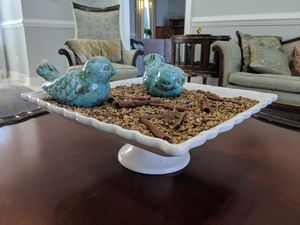 White ceramic serving dish for Sale in Rockville, MD