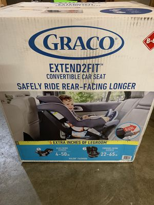 Graco extend2fit convertible car seat for Sale in Monroe, WA