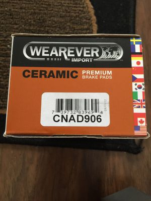 Wearever ceramic brake pads for Sale in Crownsville, MD