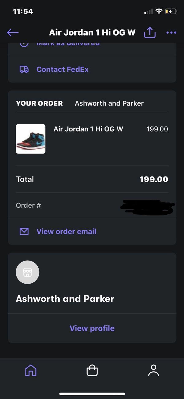 Air Jordan 1 High UNC to CHI