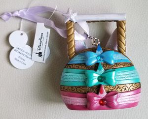 Disney Parks 3 Fairies Purse Ornament Sleeping Beauty Flora Fauna Merryweather for Sale in Spring Valley, CA