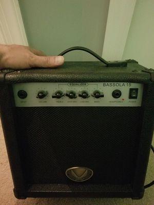 Dean Bassola Bass Amp - Bass Guitar Amplifier - BO15 - 15W for Sale in Washington, DC