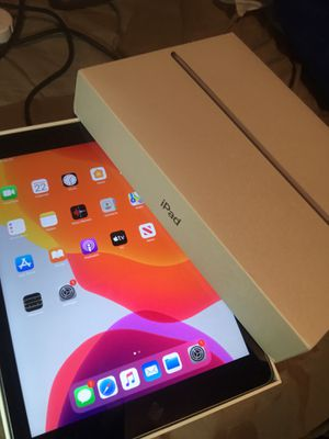 iPad 5th Gen 32GB Wifi/Cellular Any Carrier, IOS 13.3 /in Box $189 Firm price for Sale in Falls Church, VA