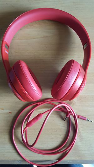 Beats Solo2 Red Headphones for Sale in Torrance, CA