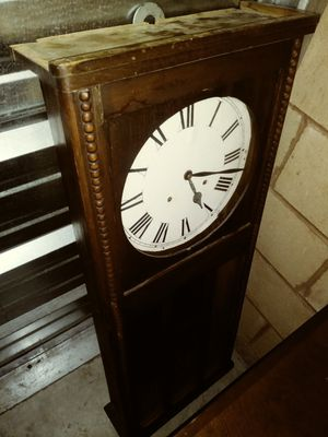 Antique wall clock from approx. 1930s for Sale in Las Vegas, NV