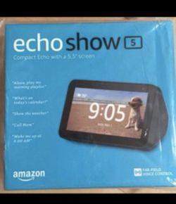 ECHO SHOW 5 - BRAND NEW IN BOX (BLACK) for Sale in Glendale,  CA
