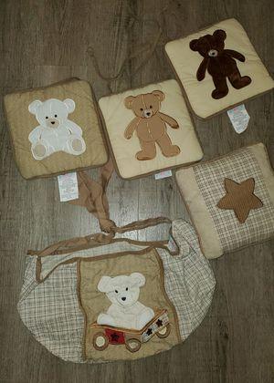 Geenny Teddy Bear 🧸🐻 Crib Bedding for Sale in Renton, WA